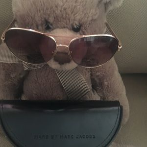 Marc Jacobs sunglasses with case.